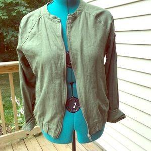 Sanctuary 55% Linen Jacket, Size Large